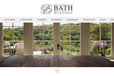 Bath Bespoke Website Homepage Design