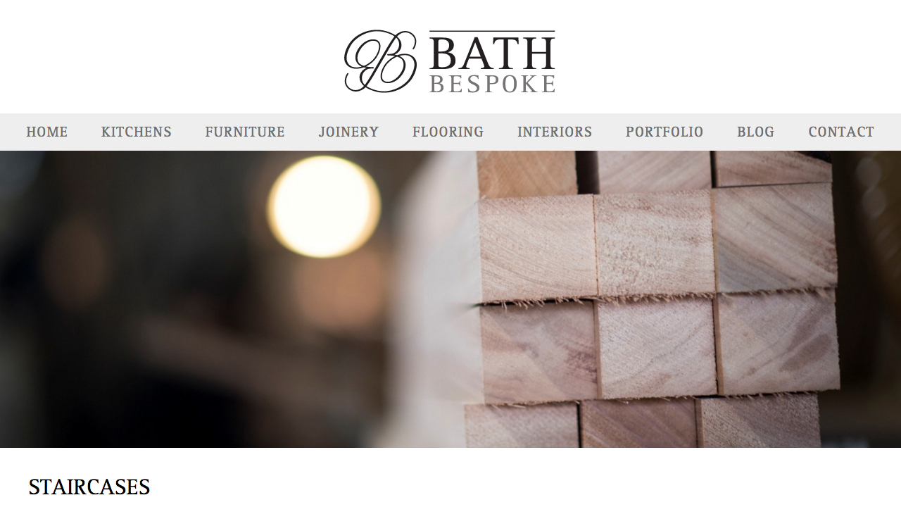 Bath Bespoke Website 3