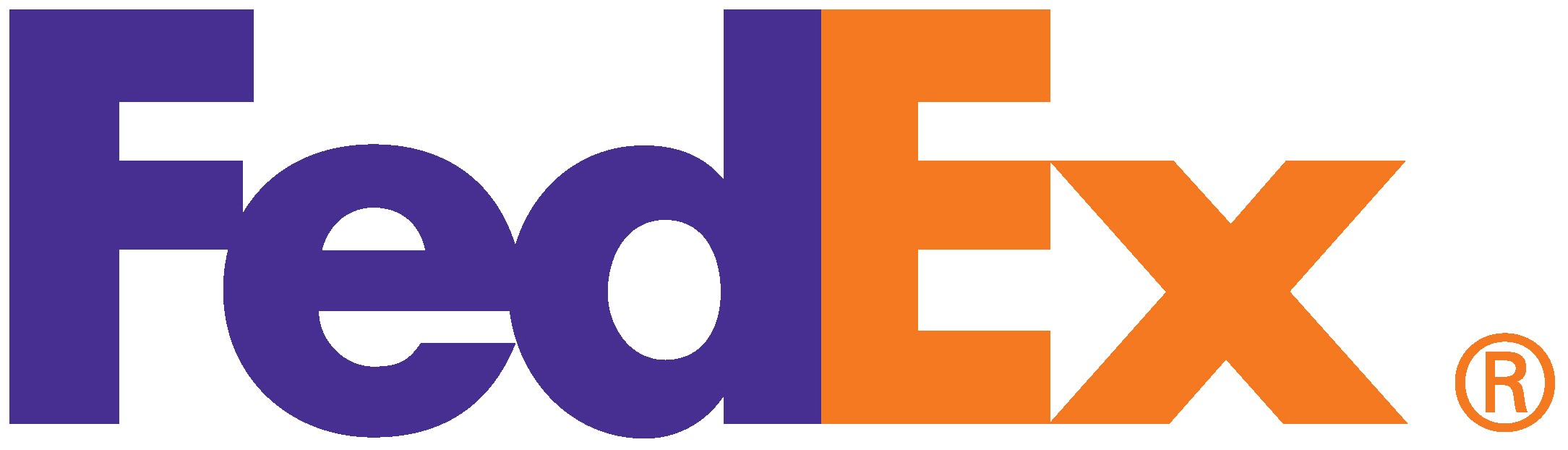 Logo design at it's best: the FedEx logo.