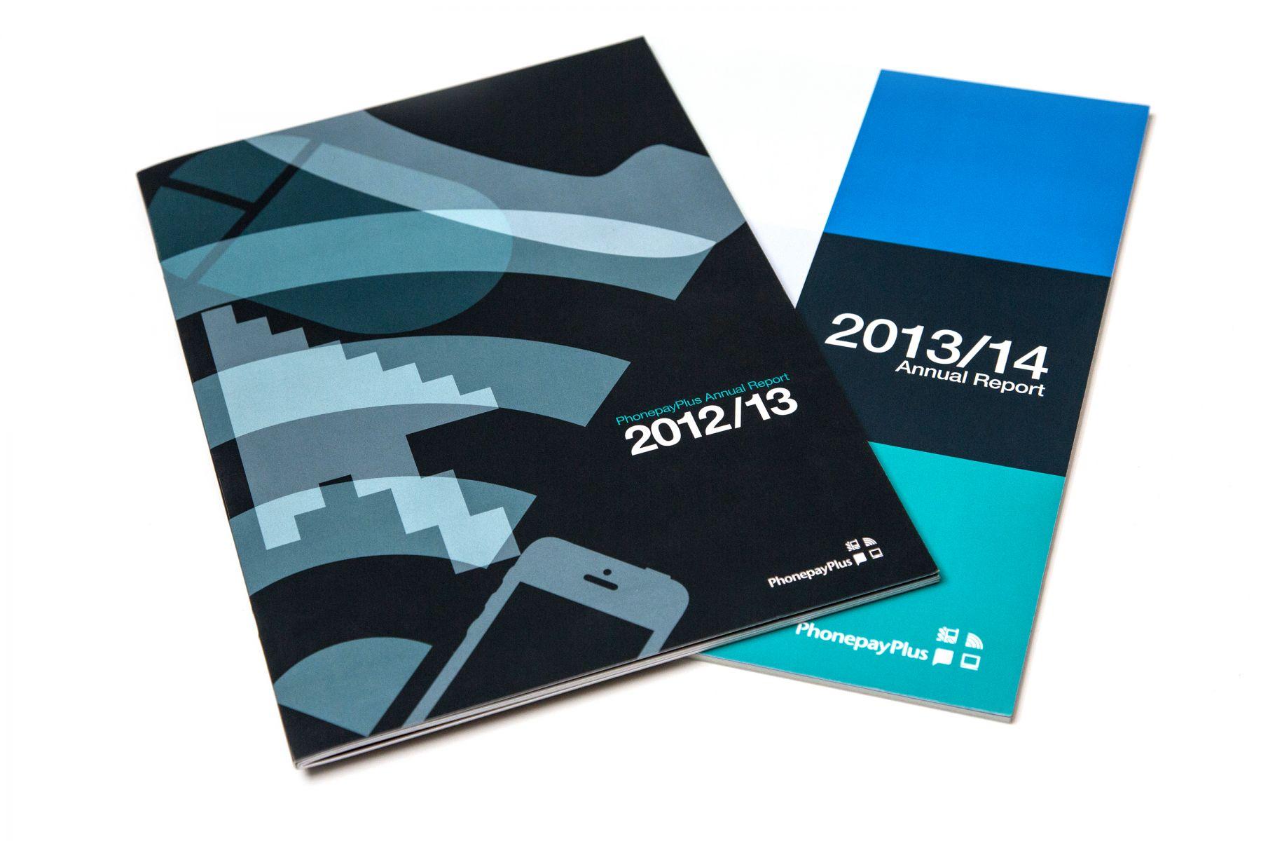 Annual Report cover designs