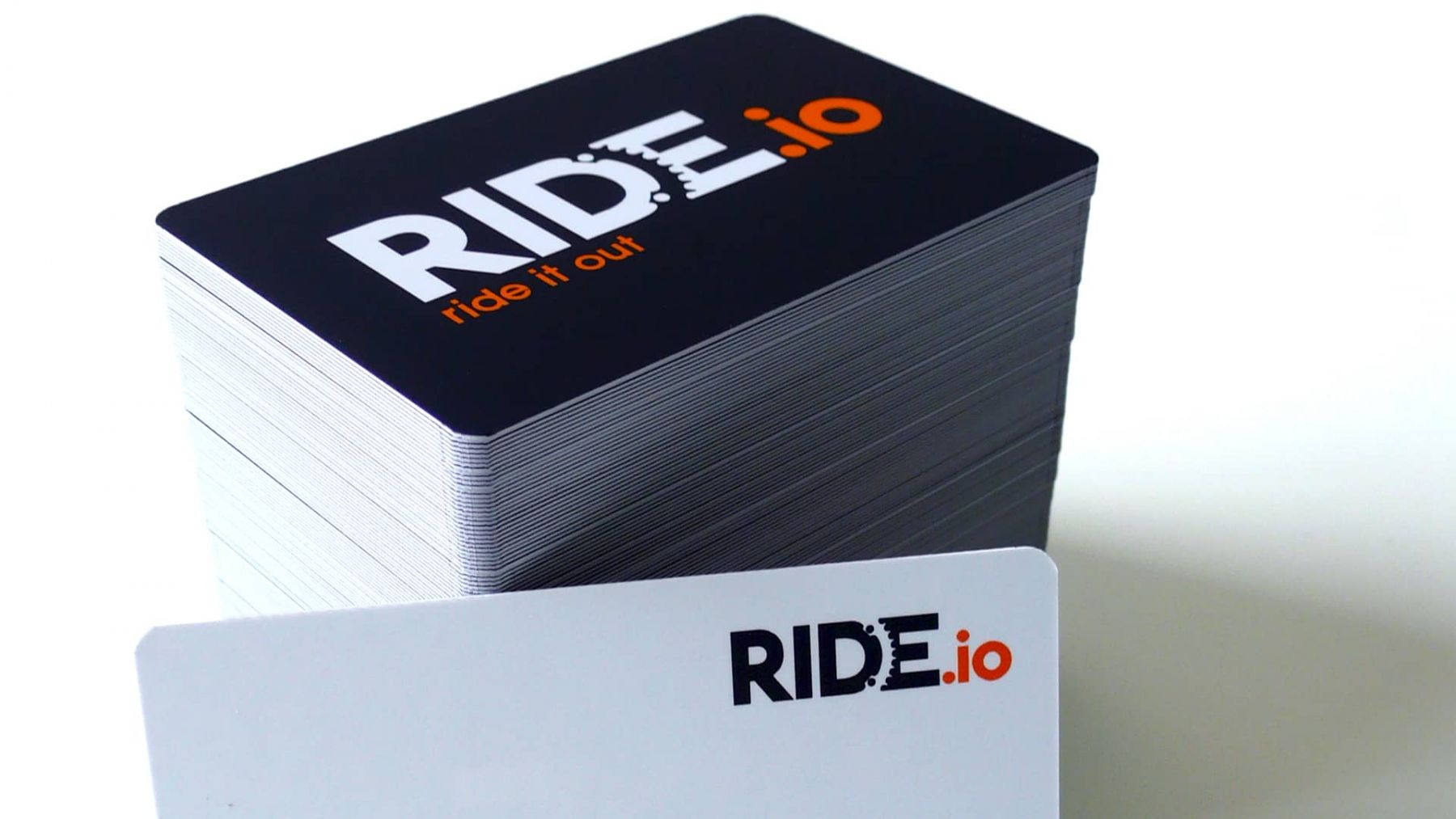 Ride It Out business card design
