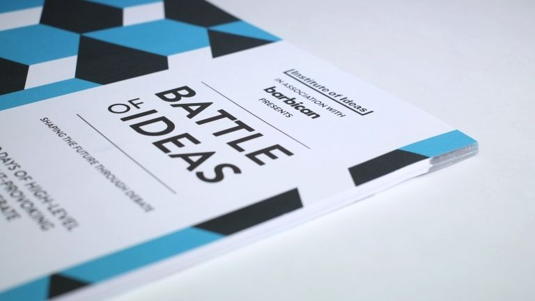 Cover shot of the Battle of Ideas brochure