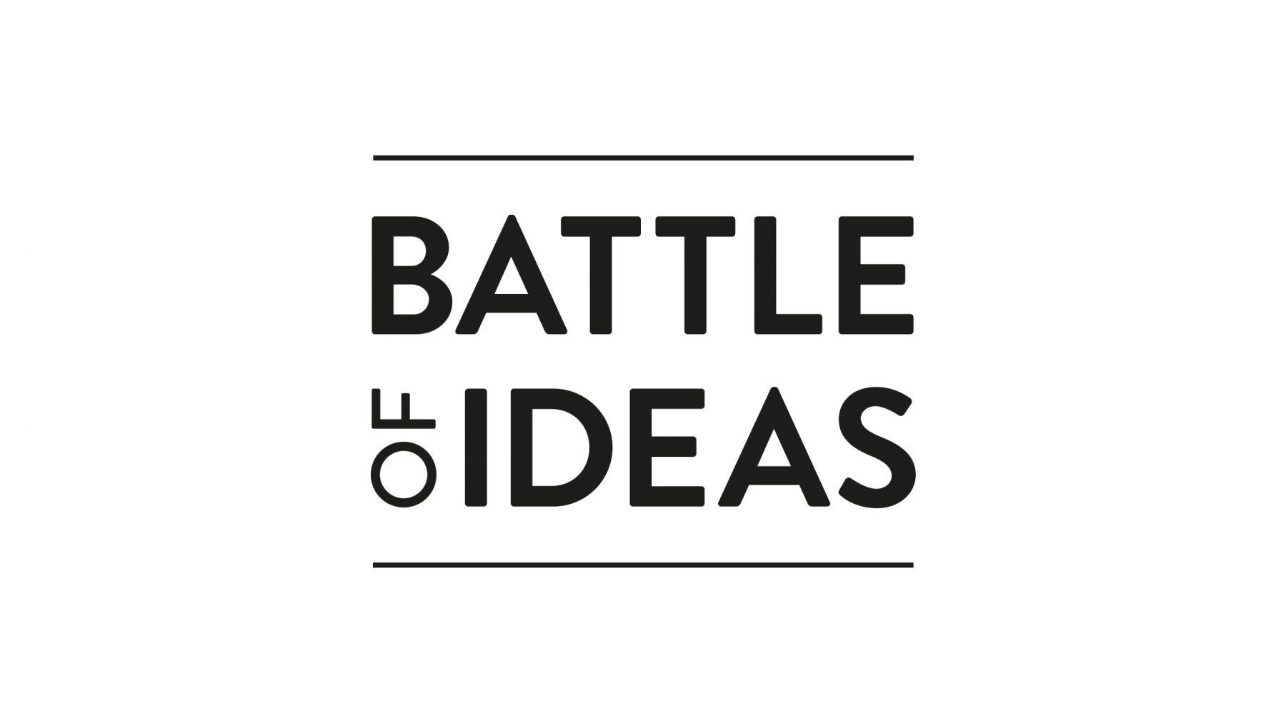 Battle of Ideas logo design