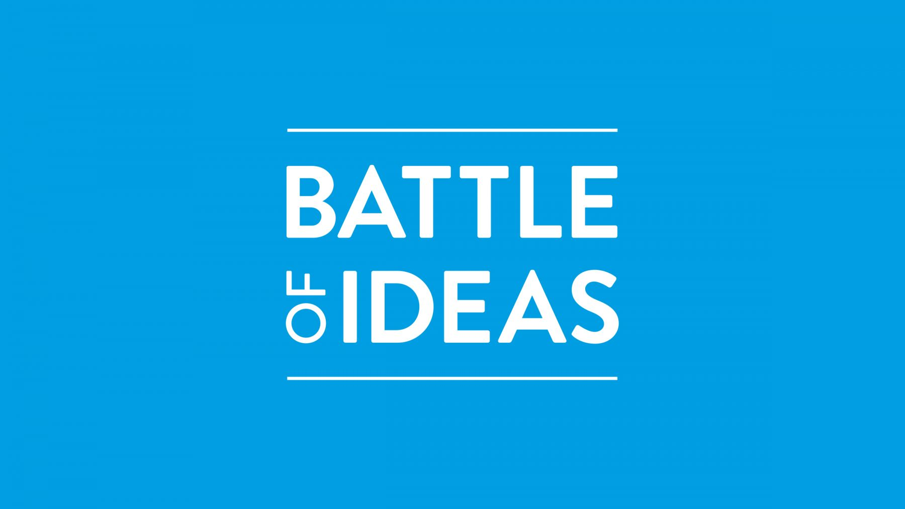 New Battle of Ideas logo design