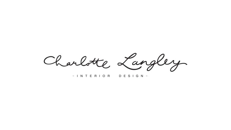 Logo Design for Charlotte Langley Interior Design