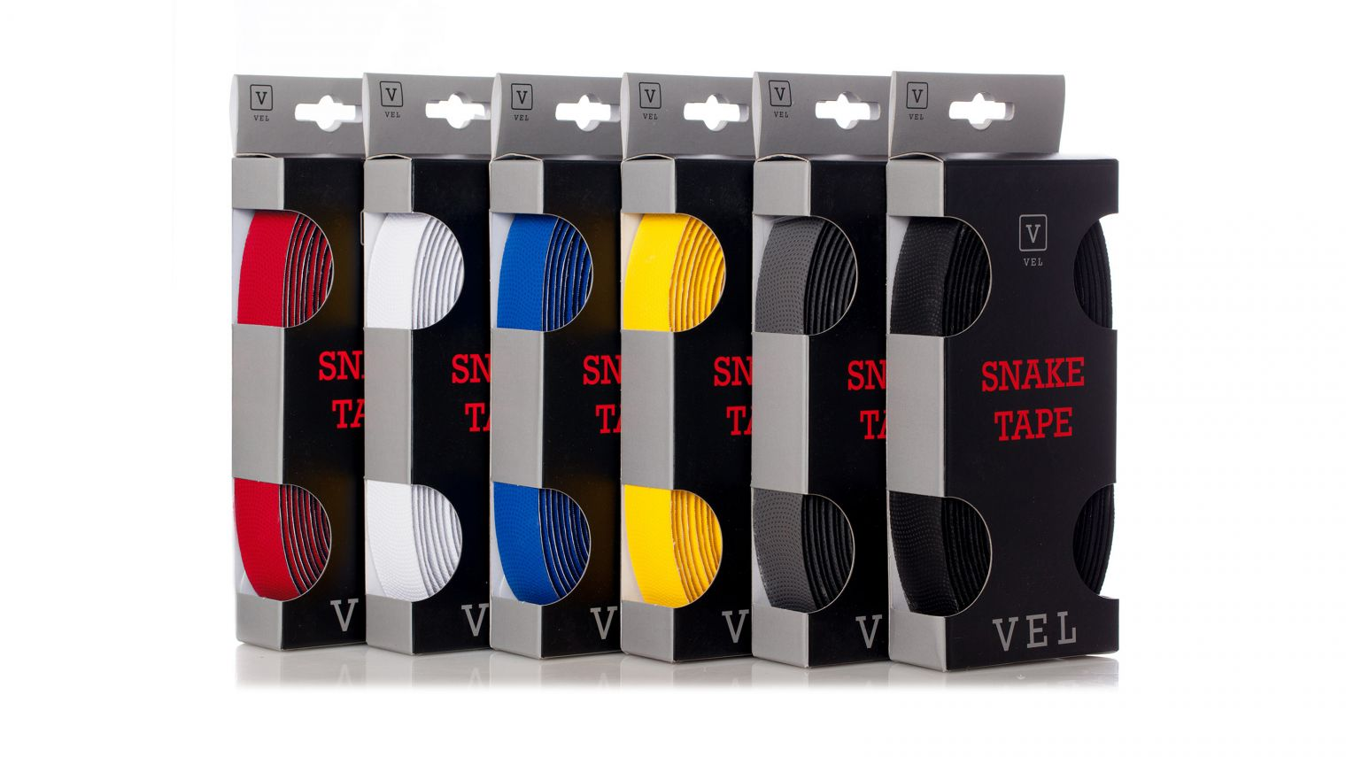 The VEL Snake Tape has taken off extremely well, thanks to the wide range of colour options. available. This is only a small selection...!