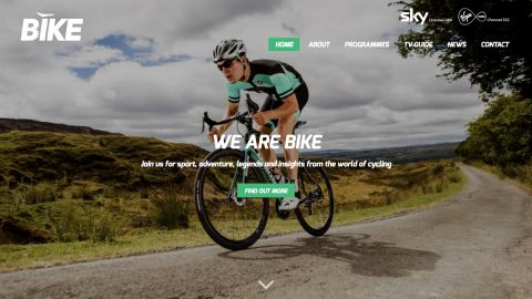 Bespoke Web Design for Bike Channel