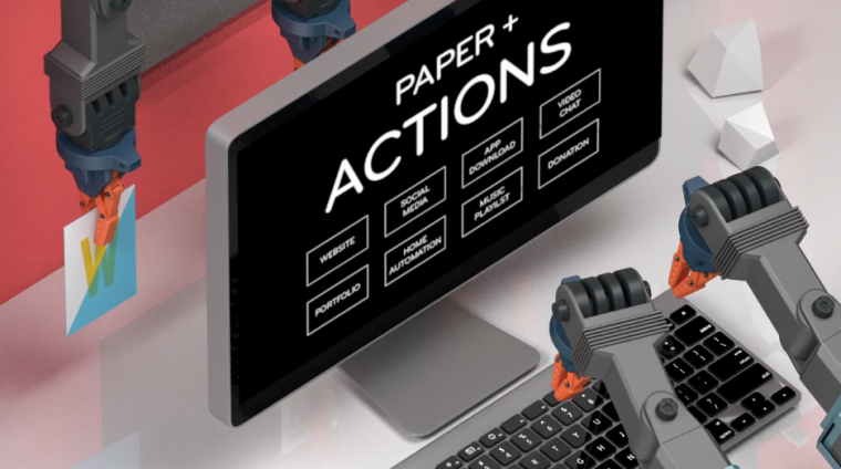 Select your NFC actions online